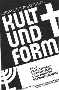 KULT UND FORM 1930 und andere