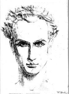 Fritz Schwerdt: Selbstporträt 1924
