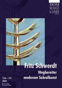 Plakat zur Ausstellung Fritz Schwerdt / Wegbereiter moderner Sakralkunst