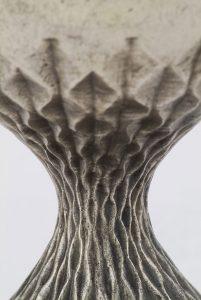 Silbergusskelch 1964, Detail