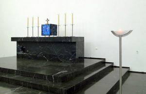 Tabernakel, Kruzifix, Ewiglicht