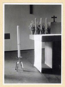 historisches Altar-Foto Leversbach