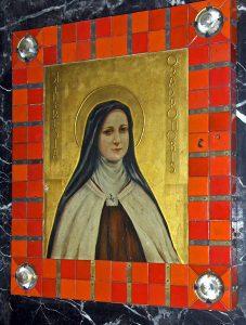 Bildrahmen für Therese von Lisieux