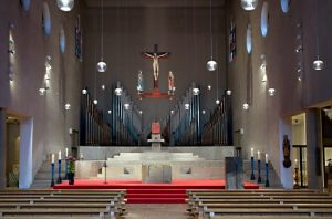 Altaransicht St. Paulus/Düsseldorf