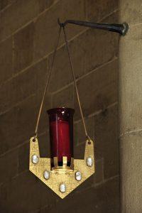 Ewiglicht Abteikirche Tholey 1960
