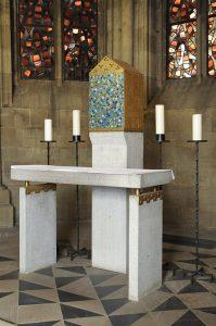 Sakramentsaltar Abteikirche Tholey 1960