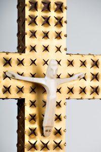 Dateil Altarkreuz St. Hedwigs-Kathedrale 1963